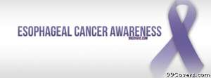 Esophageal Cancer Awareness Facebook Cover