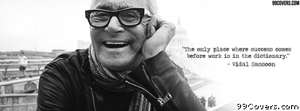 Vidal Sassoon Facebook Cover Photo