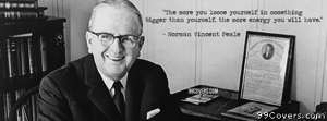 Norman Vincent Peale Facebook Cover