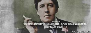 Oscar Wilde Facebook Cover Photo