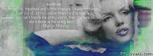 Marilyn Monroe Facebook Cover Photo