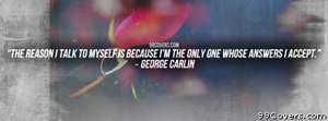 George Carlin Facebook Cover Photo