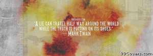 Mark Twain 2 Facebook Cover Photo