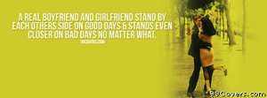 Boyfriend and Girlfriend Facebook Cover Photo