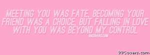 Fate quotes cover photos