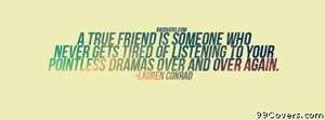 Lauren Conrad Quote Facebook Cover Photo