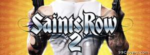 Saints Row 2 armed Facebook Cover