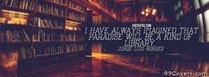 Jorge Luis Borges Facebook Cover Photo