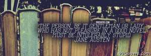 Jane Austen Facebook Cover Photo