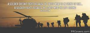 A solder doesn\\\'t fight Facebook Cover