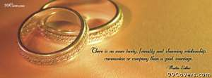 a good marriage   martin luther Facebook Cover Photo