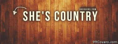 shes country Facebook Cover Photo