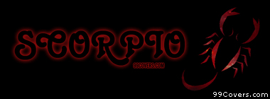 Zodiac scorpio Facebook Cover Photo