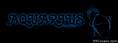 Zodiac aquarius Facebook Cover Photo