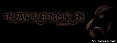 Zodiac capricorn Facebook Cover Photo
