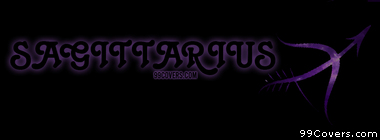 Zodiac sagittarius Facebook Cover Photo