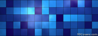 blue checkered texture pattern Facebook Cover Photo