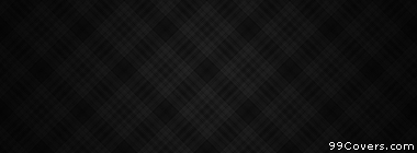 black and grey plaid texture pattern  Facebook Cover Photo