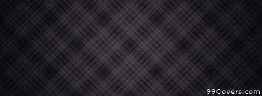 dark diamond plaid texture pattern Facebook Cover Photo