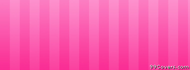 pink stripes Facebook Cover Photo