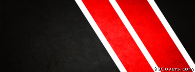 abstract black red white stripes Facebook Cover Photo