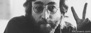 John Lennon peace sign Facebook Cover Photo