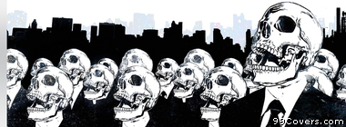 skulls in suits Facebook Cover Photo