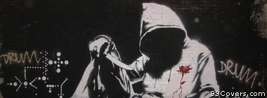Banksy Street Art 23 Facebook Cover Photo