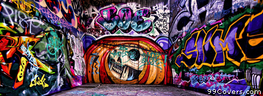 Abstract Street Art 2 Facebook Cover Photo