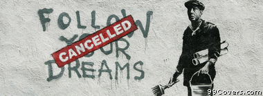 Banksy Street Art Facebook Cover Photo
