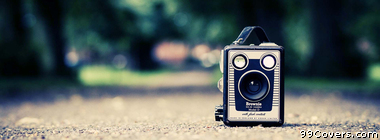 vintage camera Facebook Cover Photo