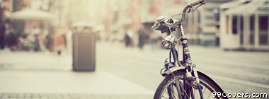 vintage bicycle Facebook Cover