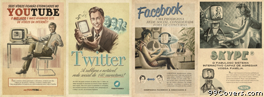vintage advertisement Facebook Cover Photo