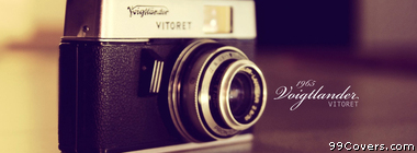 vintage vitoret camera Facebook Cover Photo