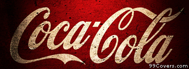 vintage Coca Cola logo Facebook Cover Photo