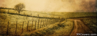 vintage field Facebook Cover