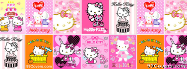 Hello Kitty Collage Facebook Cover Photo