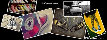 Converse Collage Facebook Cover Photo