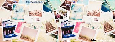Polaroid Collage Facebook Cover Photo