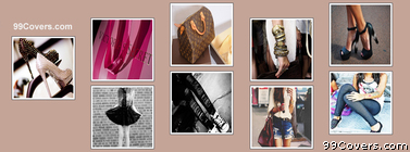 simple Fashion Collage Facebook Cover Photo