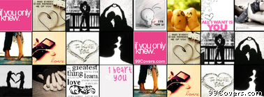 In Love Collage Facebook Cover Photo