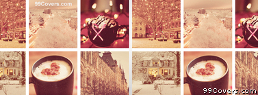 Winter Collage Facebook Cover Photo