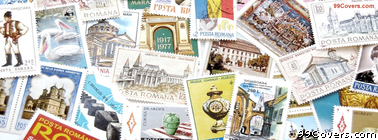 Post Stamps Collage Facebook Cover Photo