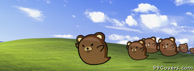 pedo bear windows Facebook Cover Photo