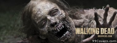 The walking dead zombie Facebook Cover Photo