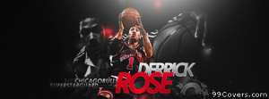 chicago bulls derrick rose Facebook Cover Photo