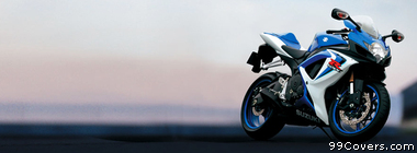 Suzuki GSX R600 Facebook Cover Photo