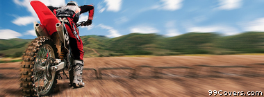 Honda CRF250R 3 Facebook Cover Photo