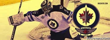 Ondrej Pavelec Winnipeg Jets Facebook Cover Photo