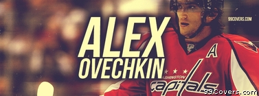Alex Ovechkin Washington Capitals Facebook Cover Photo